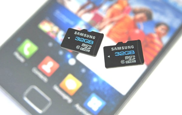 32gbmicrosd-main  Samsung class 10 microSD cards to be offered in 32GB, 64GB
