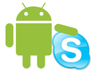 androidskype Androids get video facetime calling with Skype