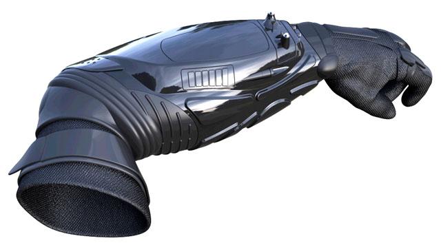 bodyguard-1 BodyGuard Armored StunGun Glove Zaps 300,000 Volts of Juice