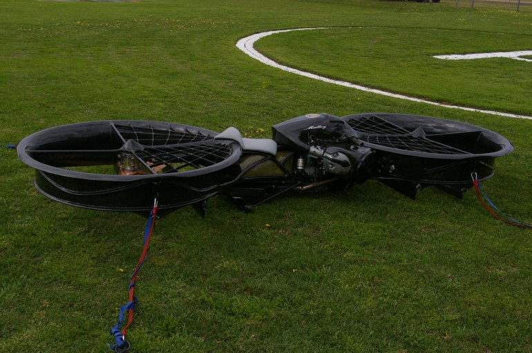 hoverbike-2 Hoverbike Prototype Could Fly up to 10,000 Feet