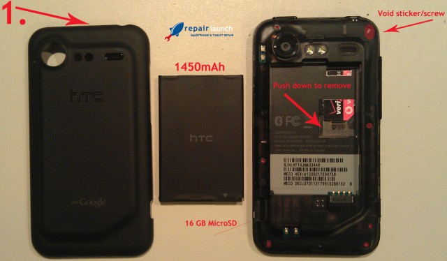 "incredible-2-step-11-640x374  Teardown of Droid Incredible 2 reveals ""easiest repair in recent history"""