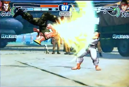 sfiphone  Online multiplayer featured in Street Fighter IV Volt for iPhone
