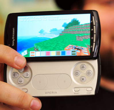 xperia-play  Sony Announces 20 New Game Titles for Xperia PLAY