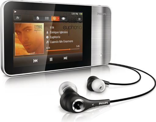 804b41d2d3_Philips-GoGear-Muse-3-with-headphone  Philips GoGear Muse 3 PMP protects your hearing