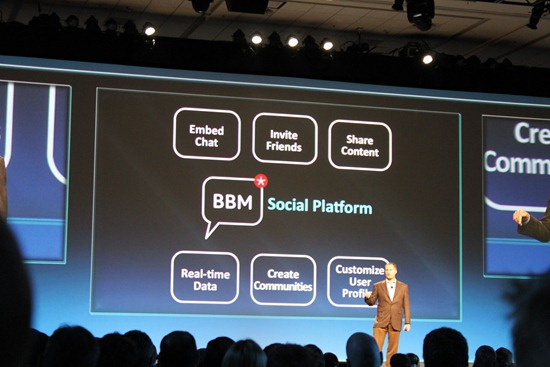 BB_social_platform1  BBM 6 talks to other apps, even lets you share your location
