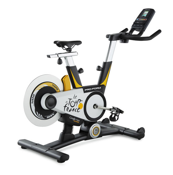 ProForm_Tour_de_France ProForm Tour de France indoor training bike mirrors real route