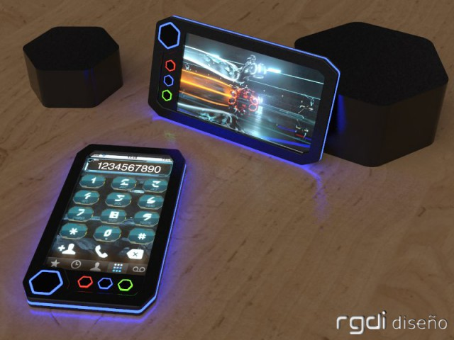 Tron_phone_3-640x480 Tron Concept Phone is a classic beauty
