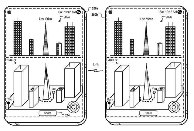 app_patent Apple patents dabble in augmented reality, transparent displays