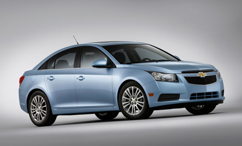 chevrolet-cruze1 Diesel-powered Chevrolet Cruze to hit US market in 2013