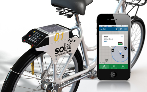 howworks Want to use a shared bike? There's an app for that