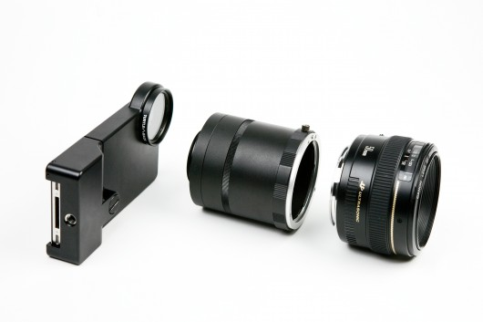 iphoneslrmount-6 SLR Mount Lets You Attach Big Bad Lenses to your iPhone