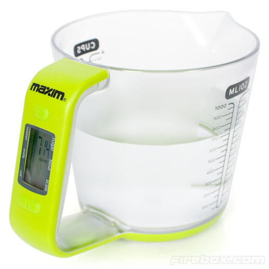 measuring-cup Maxim 2-in-1 Measuring Cup Gives Both Volume and Weight