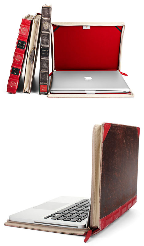 0bookbook02 BookBook makes your MacBook look like an old book too