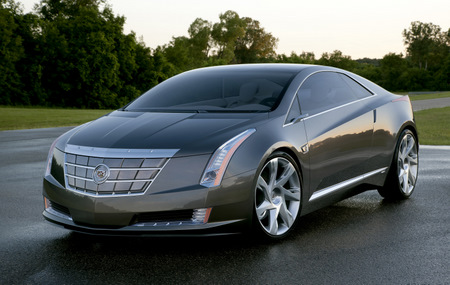 ELR1 Cadillac ELR plug-in luxury hybrid coupe based on Chevy Volt