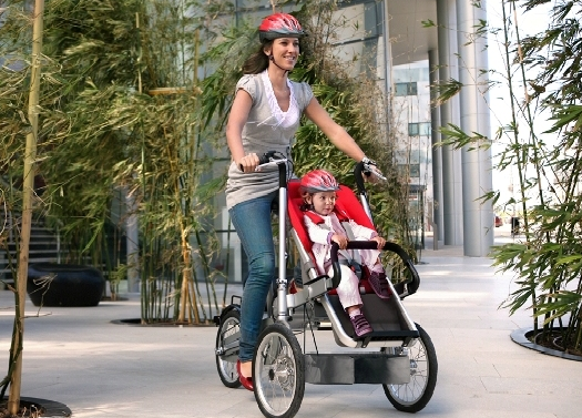 Picture-14 Taga bike turns into stroller in 20 seconds