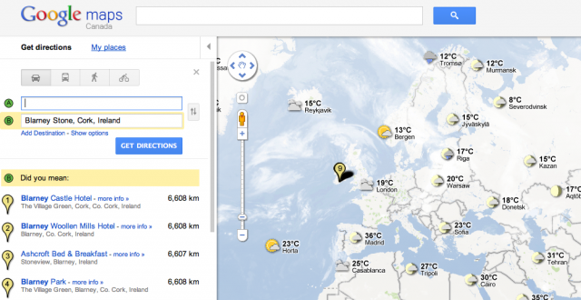 Picture-4-640x330 Google ups the ante by adding Weather to Maps