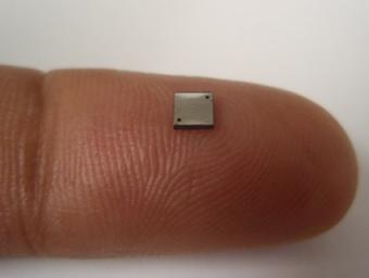 World_Smallest_Battery Enter: The world's smallest battery