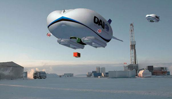 airships Giant British blimps to service Canada's Northwest Territories