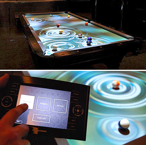 cuelight  CueLight makes regular billiards look like a digital video game