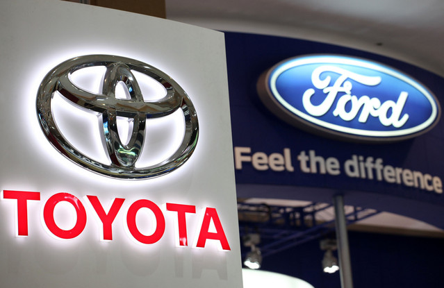 data Toyota forges partnership with Ford to develop hybrid trucks and SUVS
