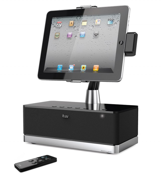 iluv-artstation-640x705 iLuv Art Station Pro iPad dock looks like a G4 cinema