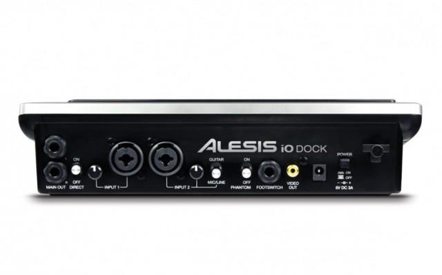 iodock-2-640x399 iPad turned studio with Alesis iO Dock