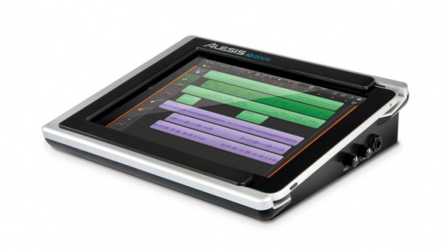 iodock-640x359 iPad turned studio with Alesis iO Dock