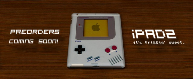 ipad2-gameboy-640x263 iPad 2 case transforms your tablet into a Nintendo Gameboy