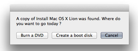 lion-boot Making your own Lion USB Boot Disk, Free