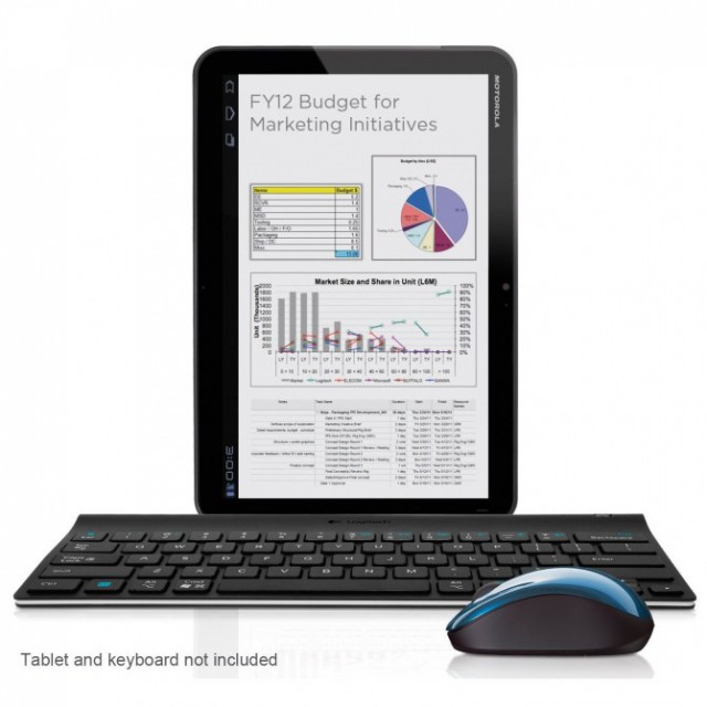 logitech-tablet-mouse-keyboard-4-640x640 Logitech turning tablets into desktops with Wireless Mouse and Keyboard for Android