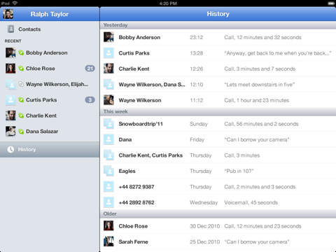 skype-ipad  Skype for iPad app returns with tablet optimizations
