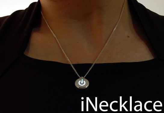 08-iNecklace Wear the iNecklace with Class