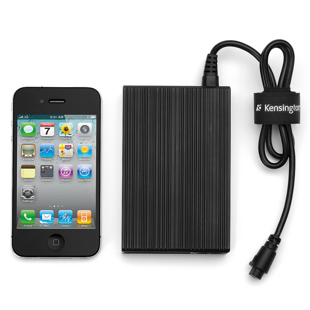 absolutepower2 Kensington AbsolutePower simultaneously triple charges a smartphone, tablet and laptop
