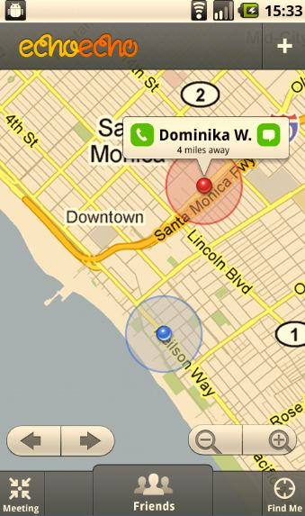 "echoecho1 Google backs echoecho app to answer ""Where are you?"""
