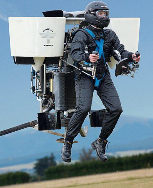 jetpack  The $100,000 wearable Martin jetpack lifts off next year