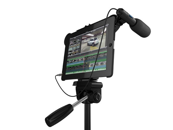 makayama-01 Videographers will love the Makayama Movie Mount for iPad 2