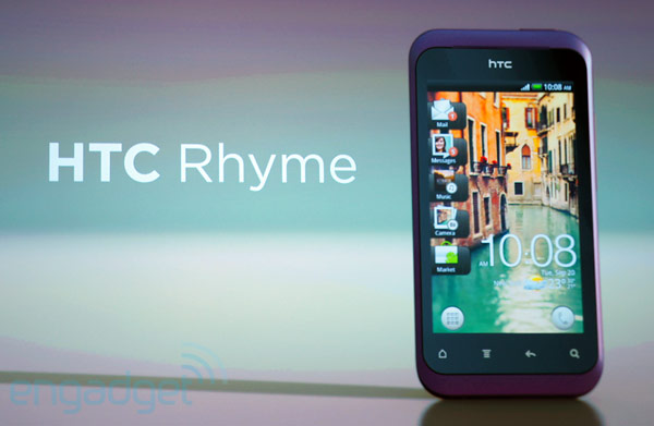 rhyme1 Verizon attracts the ladies with HTC Rhyme Android smartphone