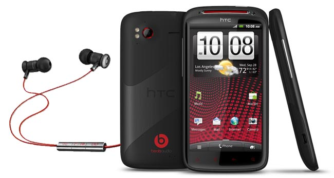 sensationxe HTC Sensation XE Android smartphone first with Beats Audio
