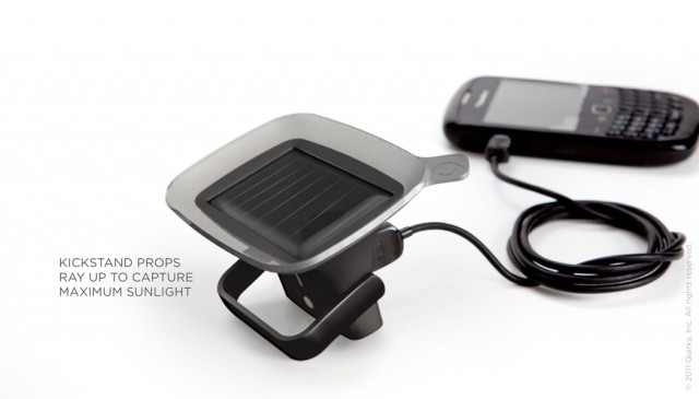 111004-ray-4-640x365  Quirky Ray solar charger boasts suction cup and kickstand