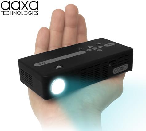 111014-aaxa1  AAXA Tech P4 is world's brightest battery-powered pico projector