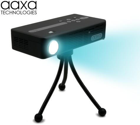 111014-aaxa2  AAXA Tech P4 is world's brightest battery-powered pico projector