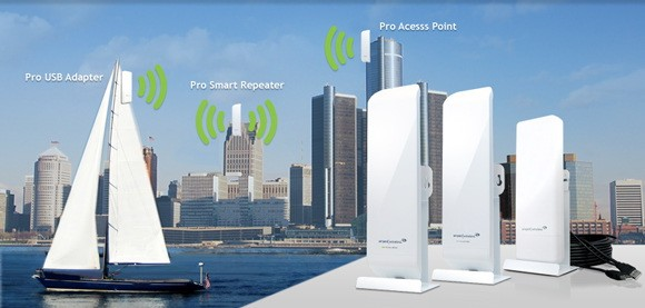 amped-wifi Amped Up WiFi Hotspots Can Now Reach 1.5 Miles