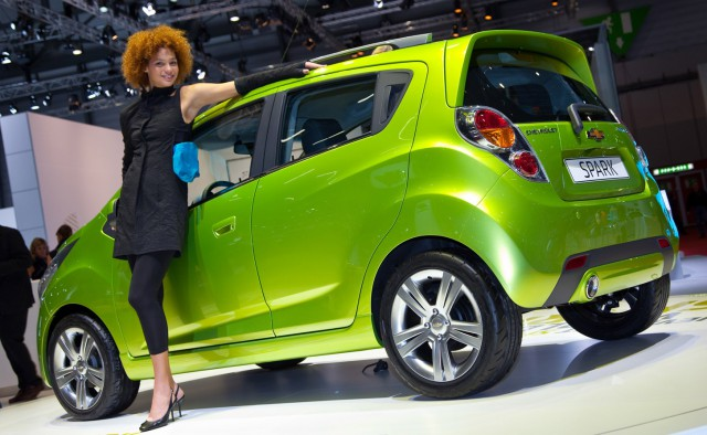 chevy-spark-01-640x394 GM Announces All-Electric Chevy Spark EV for 2013