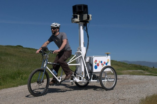 google-trike-3d Google Mapping Amazon Rain Forest in 3D
