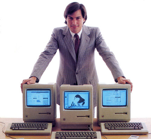jobs_macworld1984 Steve Jobs The Movie.. Coming Soon