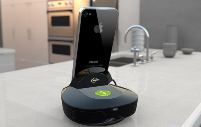 111110-swivl1  Swivl Camera Dock For iPhone Automatically Follows Your Movements