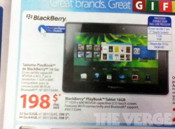 111118-playbook2 BlackBerry PlayBook Slashed Down To $199