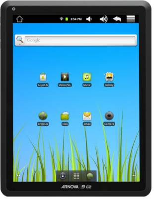 arn9 Introducing Archos' Newest Tablet, The Arnova 9 G2