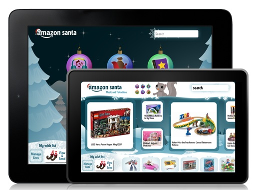 sant New Children's Wish List App From Amazon