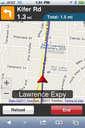 111214-telenav  Free TeleNav HTML5 GPS Offers Voiced Turn-By-Turn Directions